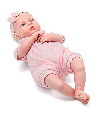 Boneca Real Sons de Bebê Roma Jensen Branca