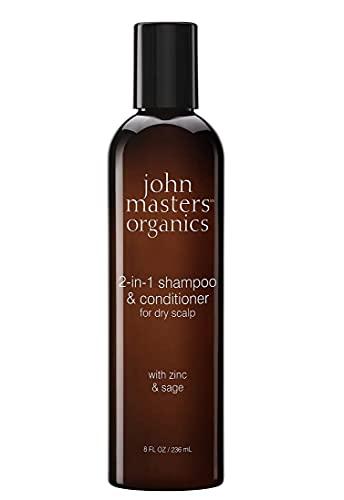 john masters organics Zinc and Sage Shampoo with Conditioner, 1er Pack (1 x 236 ml)