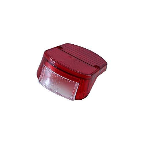 Zündapp Rücklicht Glas rot für KS R Combinette 50 Typ 510 515 561 Rücklichtglas
