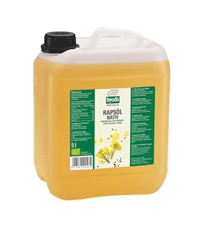 Byodo - Aceite de colza nativo (1 bote de 5 l)