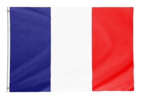Star Cluster 90 x 150 cm Frankreich Flagge/Frankreich Fahne/Drapeau français/France National Flag (FR 90 x 150 cm)