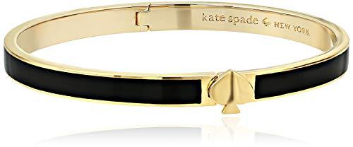 Kate Spade New York Heritage Spade Thin Enamel Spade Bangle Black One Size