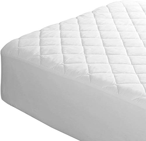 Home & Bath Co. Quilted Microfibre Mattress Protectors Non Allergenic Fully Fitted 30 cm Extra Deep Elasticated Skirt No Noise Crinkle Free All UK Bed Sizes (King)