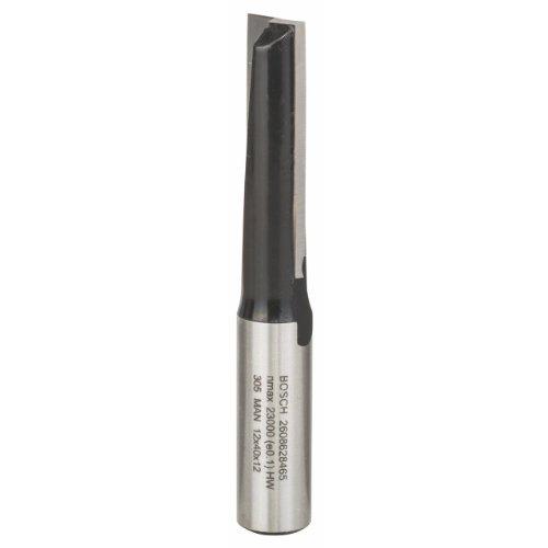 Bosch Professional Zubehör 2 608 628 465 Nutfräser 12 mm, D1 12 mm, L 40 mm, G 81 mm