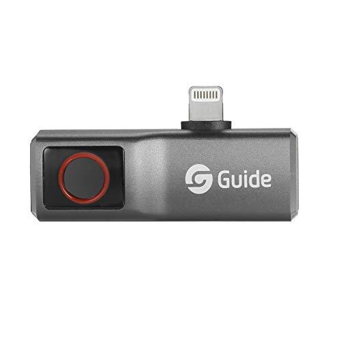 Keifen GUIDE MobIR Air Thermal Imaging Camera para Smartphone Mini IR Thermal Imager Teléfono Cámara térmica Teléfono Add-on Thermal Imaging Camera Resolución 120x90 Rango de medición -20 ℃ ~ 120 ℃