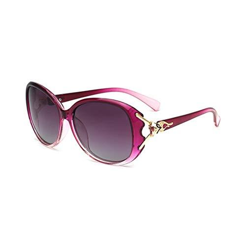 H.ZHOU 8842 - Gafas de Sol polarizadas para Mujer, diseño clásico, Elegancia, UV400, antiUV, para Conducir/Viajar/al Aire Libre, 4 Colores, Z-1