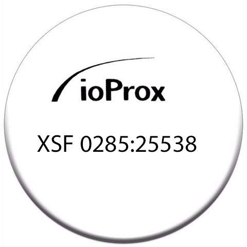 Kantech P50TAG ioProx Self-adhesive Tag, XSF/26 bit format (50 pack)