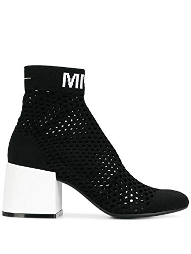 Luxury Fashion | Maison Margiela Dames S40WU0176P2399H1532 Zwart Polyester Enkellaarzen | Seizoen Outlet