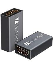 iVANKY HDMI 中継アダプター(4K@60Hz/タイプA メス - タイプA メス) ブラック