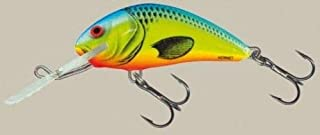 "Salmo Hornet Rattle 4.5 Floating Lure H45F-CB Chartreuse Blue 1 3/4"" 1/4 oz"