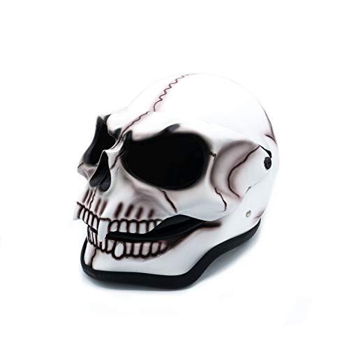 Casco de calavera, divertido casco de decoración, en