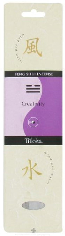 帽子組立ヒープTriloka - Feng Shui Incense Creativity - 10 Stick(s) [並行輸入品]