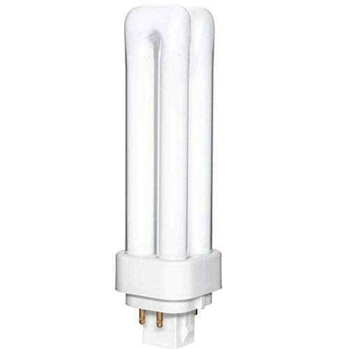 Overdrive 016 ODD13W/4P/41K 25-Pack 13W Quad(Double) Tube CFL-4 Pin-4100K, G24q1 Base Compact Fluorescent Lamp, 25 Piece