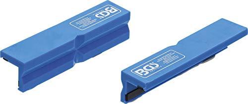 Bgs 3046 - Protector de mandíbula de banco, 2 piezas, 125 mm
