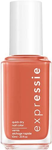 """Essie Schnelltrocknender Nagellack """"expressie"""", Nr. 160 in a flash sale, Koralle, Vegane Formel, 10 ml"""