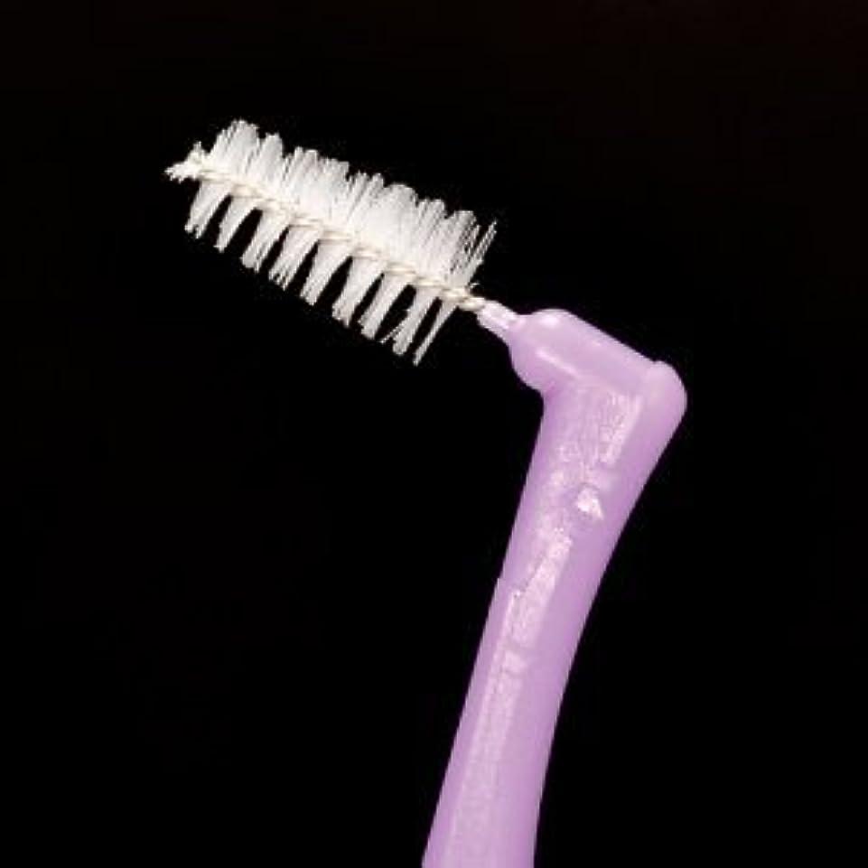 薄暗いオーディション弁護プロスペック 歯間ブラシ アングルアクア/L/4本入り