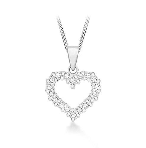 Tuscany Silver 8.44.2984 - Cadena con colgante de plata de ley (925/1000)
