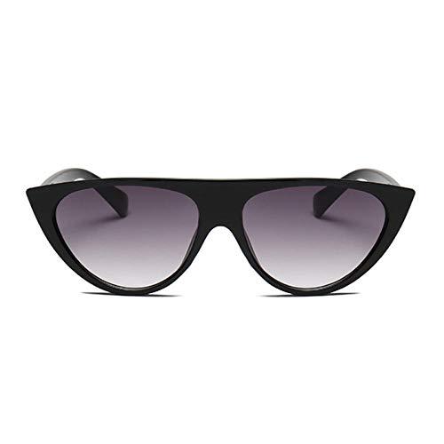chuanglanja Gafas de sol retro para mujer, de verano, estilo vintage, para mujer, de color negro