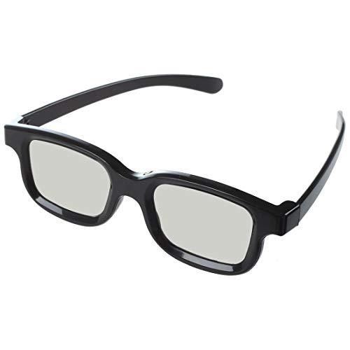 Spezielle Polarisationsbrille mit 3D-Folie, 3D-Stereo-Brille, nicht blinkend, für Kino TV