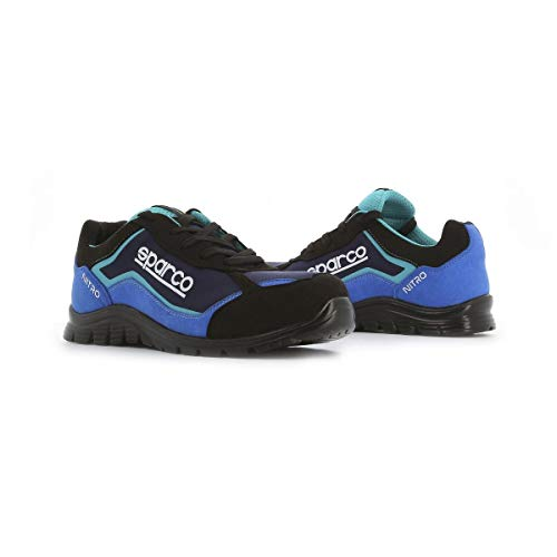 Sparco - Zapatillas Nitro S3 Black/Azul talla 45