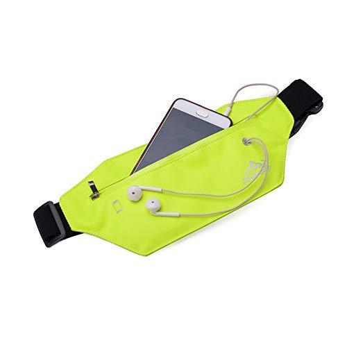 Guuisad Bolsillos deportivos, cinturón de correr correr a prueba de agua Bolsa de cinturón de cintura Paquete de la cintura Titular de teléfono móvil Pocket Deportes al aire libre Ciclismo Ciclismo Bo