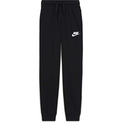 Nike Boy's Sportswear Pants, Black/White, Small