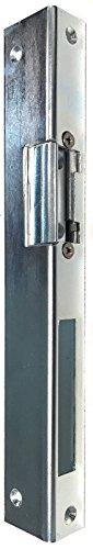 Elektrischer Türöffner Peso 300 6-12 Volt mit Schließblech Winkelschliessblech (3 x 25 x 35 x 250 mit Entriegelung rechts)