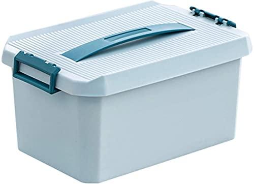 cvhtroe Caja de medicamentos Botiquín de Primeros Auxilios portátil Caja médica Caja organizadora de Almacenamiento Multifuncional para el hogar, Viajes, Camping, Oficina y el Lugar de Trabajo