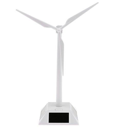 SM SunniMix DIY Solarbetriebene Windkraftanlage Windräder Modellbausatz Kinder Wissenschaft Lernspielzeug