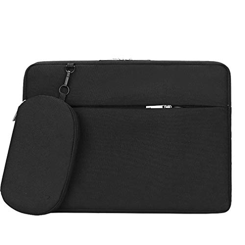Faukku 14 inch laptophoes, waterafstotende laptoptas beschermende tas draagtas voor 14 inch MacBook, Dell Lenovo Samsung HP Acer Chromebook 14 notebook