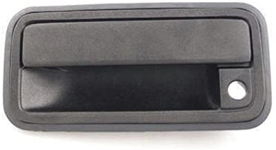 I-Match Auto Parts Rear Right Passenger Side Door Handle Replacement For 2000-2007 Cadillac Escalade Chevrolet Avalanche Silverado Suburban Tahoe GMC Sierra Yukon GM1521105 15721572 Black Textured