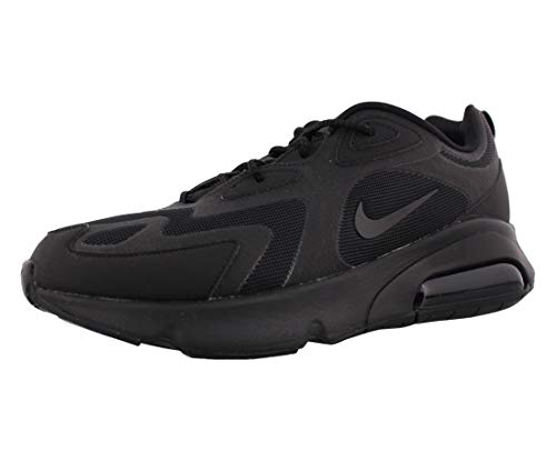 Nike Air MAX 200, Zapatillas de Running para Asfalto Hombre, Negro (Black/Black 003), 42.5 EU