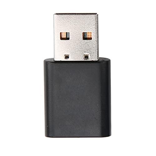 Adattatore Bluetooth Aramox, Adattatore Bluetooth per Auto ABS 24 MHz V5.0 Trasmettitore USB 2 in 1 Plug And Play con Cavo Audio da 3,5 Mm