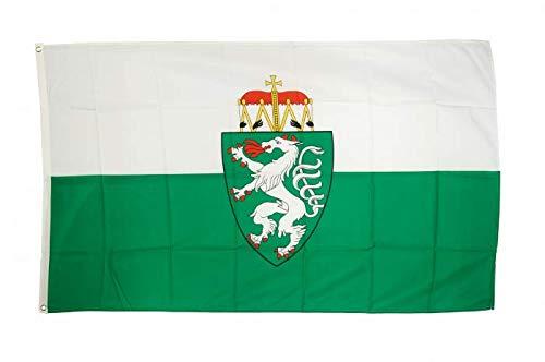 Flaggenfritze Fahne/Flagge Österreich Steiermark + gratis Sticker