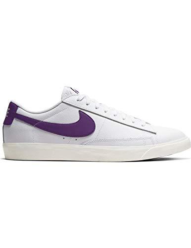 Zapatillas Nike Blazer Low Leather White/Voltage Hombre 42