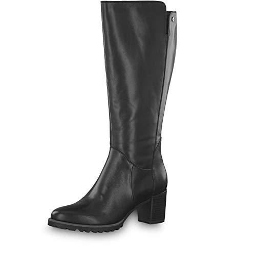 Tamaris Damen Stiefel 25571-33, Frauen KlassischeStiefel, Boots reißverschluss Damen Frauen weibliche Lady Ladies feminin Women,Black,36 EU / 3.5 UK