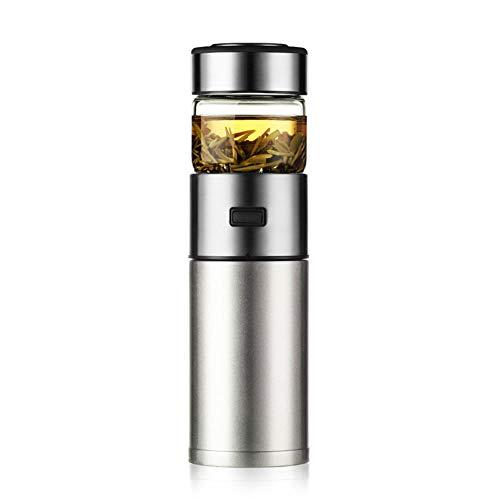 Herbal Thé Vert Cafetière Leaf Brewer Infuseur pot faire Profond goût par Press