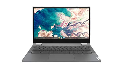 Lenovo Chromebook Flex 5 13' Laptop, FHD (1920 x 1080) Touch Display, Intel Core i3-10110U Processor, 4GB DDR4 Onboard RAM, 64GB SSD, Intel Integrated Graphics, Chrome OS, 82B80006UX, Graphite Grey