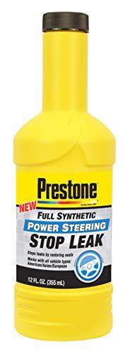 Prestone AS274-6PK Synthetic Power Steering Fluid Stop Leak, 12 oz, 6 Pack
