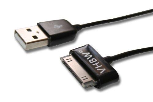 vhbw USB Datenkabel passend für Samsung Galaxy P1000, Tab 2 GT-P5110, GT-P5100, Galaxy Note 10.1 GT-N8000, GT-N8010, 10.1 LTE GT-N8020
