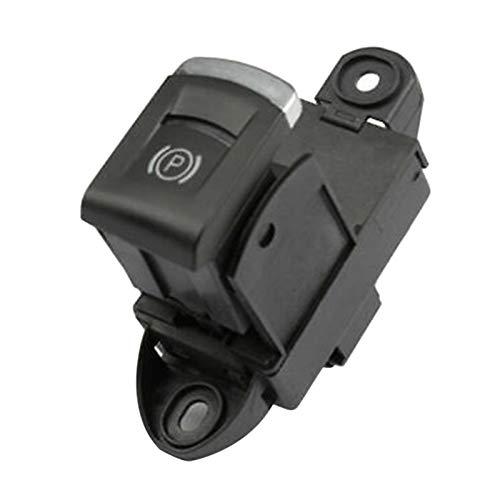 Rumors BRÁNICO DE Aparcamiento ELECTRÓNICO BOTÓN DE Interruptor DE HANDRATE FIT para A6 C6 A6 ALLROADER Quattro S6 RS6 4F1927225A 4F1927225C (Color : Black)