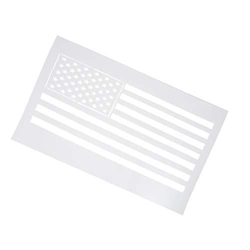 Supvox amerikanische Flagge Vorlage Schablone für Malerei Bodenwandfliese Stoffschablonen