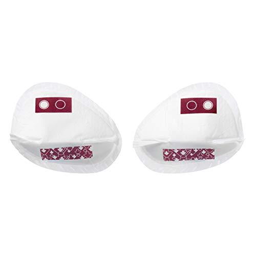 Tommee Tippee coppette assorbilatte adattabili monouso, misura small, bianco, 40 pezzi
