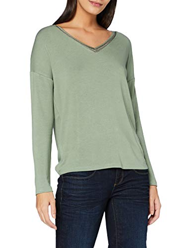 Street One A315388 T-Shirt, Rich Celadon, 46 Donna