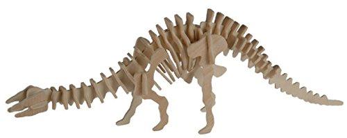 Out of the blue - Puzzle Bois 3D Apatosaurus – 12 x 30 cm