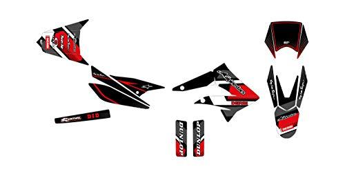 Kit de decoración para motocross Derbi Senda R X-Treme 50 cómics, color rojo 2010-2013