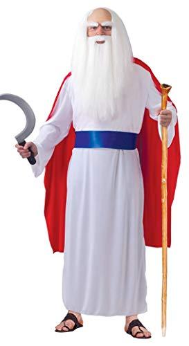 Fiestas Guirca Costume prêtre Celtique Druid Adulte