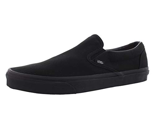 Vans U Classic Slip-On Black/Black VN000EYEBKA Mens 8