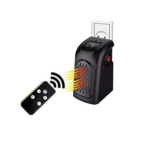 Takestop® - Estufa Wonder eléctrica con mando a distancia, 400W, manejable y...