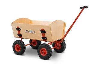 Eckla Bollerwagen ECKLATRAK-Easy, pannensichere Bereifung